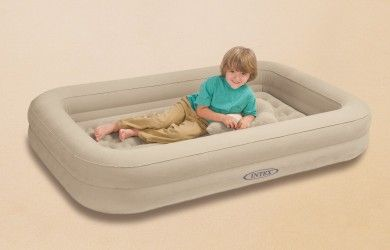Kid Intex Kidz Travel Air Mattress Perfect For Kids 45 99 Kids Travel Bed Toddler Travel Bed Portable Toddler Bed