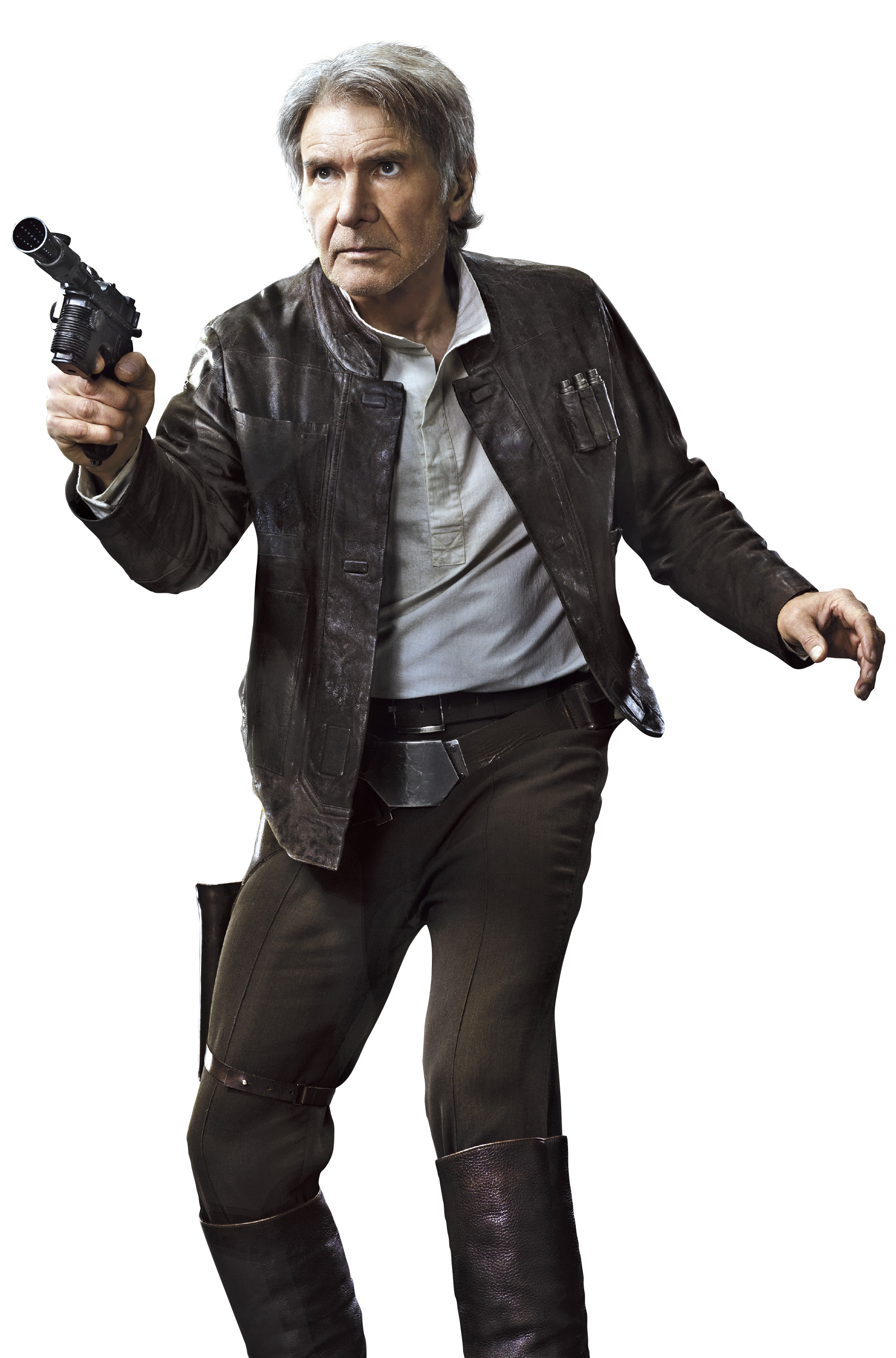 Han Solo Force Awakens Leather Jacket Han And Leia Harrison Ford