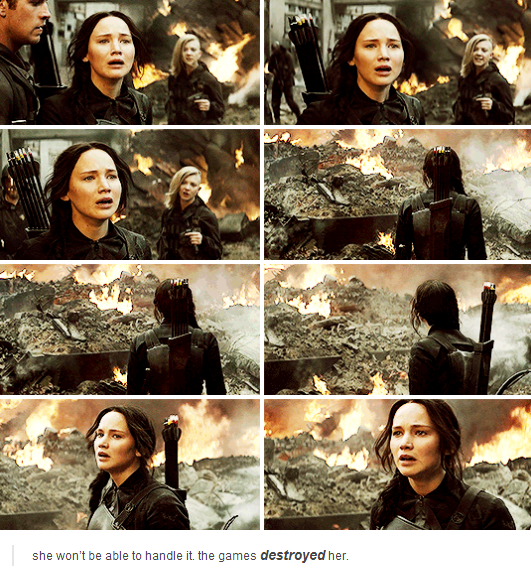 katniss rebellion With part 2 bringing the series to a close this week, it is inevitably going to look at  the completion of both the rebellion and katniss's personal.