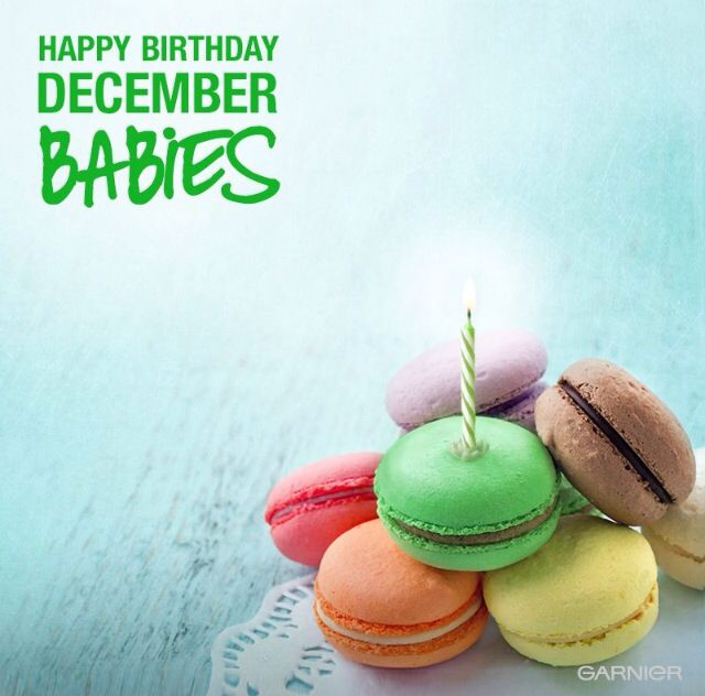 Happy Birthday, December babies! | Events and Ideas ...