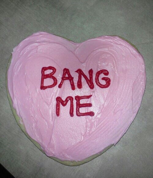 My cake would say \