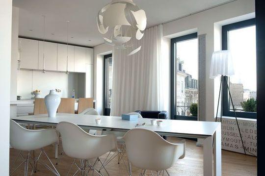 Esprit pop pour un appart\u0027 coloré Salon blanc, Côté maison et