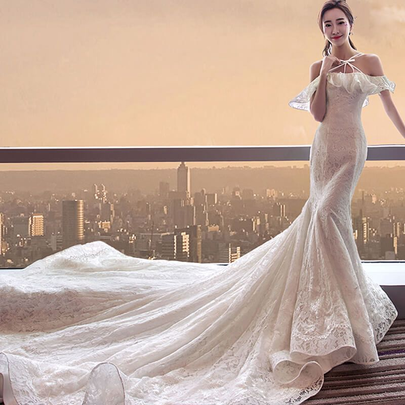 Wedding Gowns For Hourglass Figures: THE BEST MERMAID WEDDING DRESSES