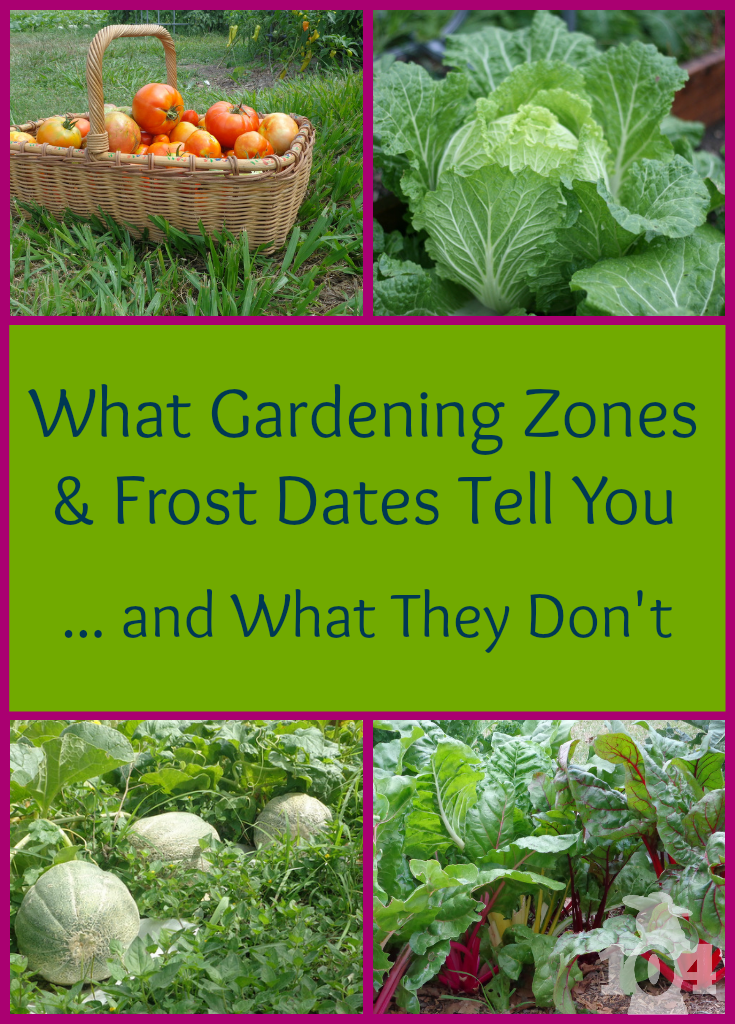 What Gardening Zones And Frost Dates Tell You Gardening Zones And Confusion