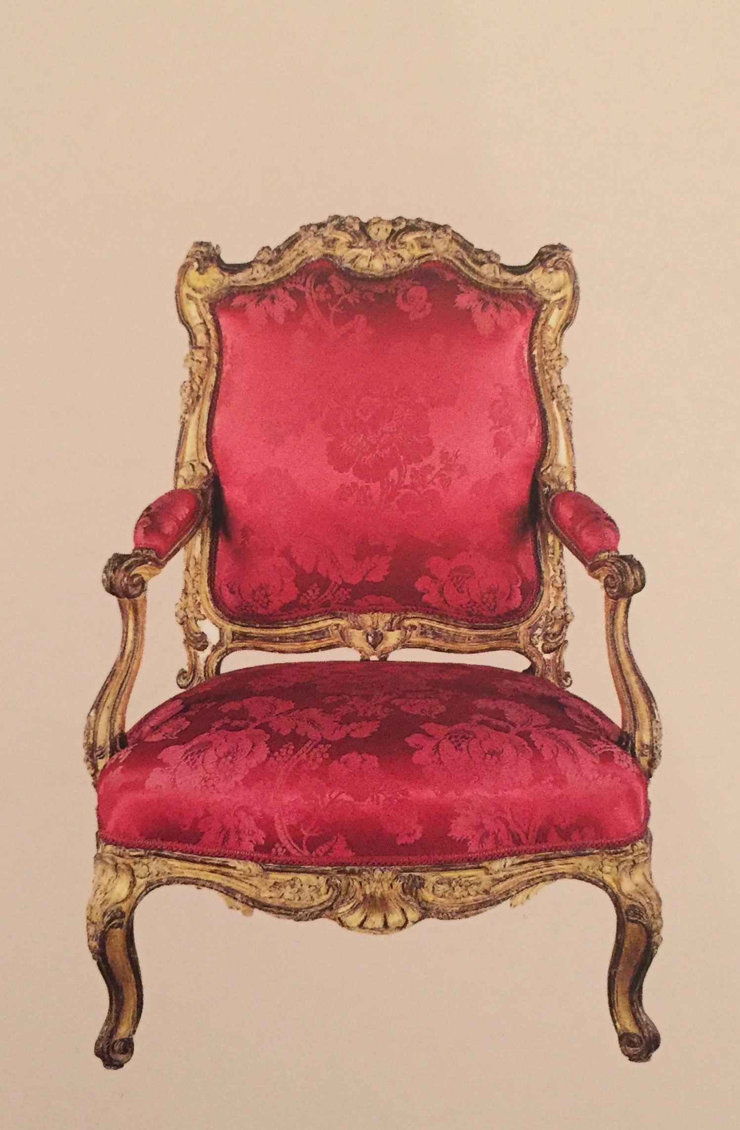 Nicolas HEURTAUT Fauteuil d une série de quatre Paris vers 1755