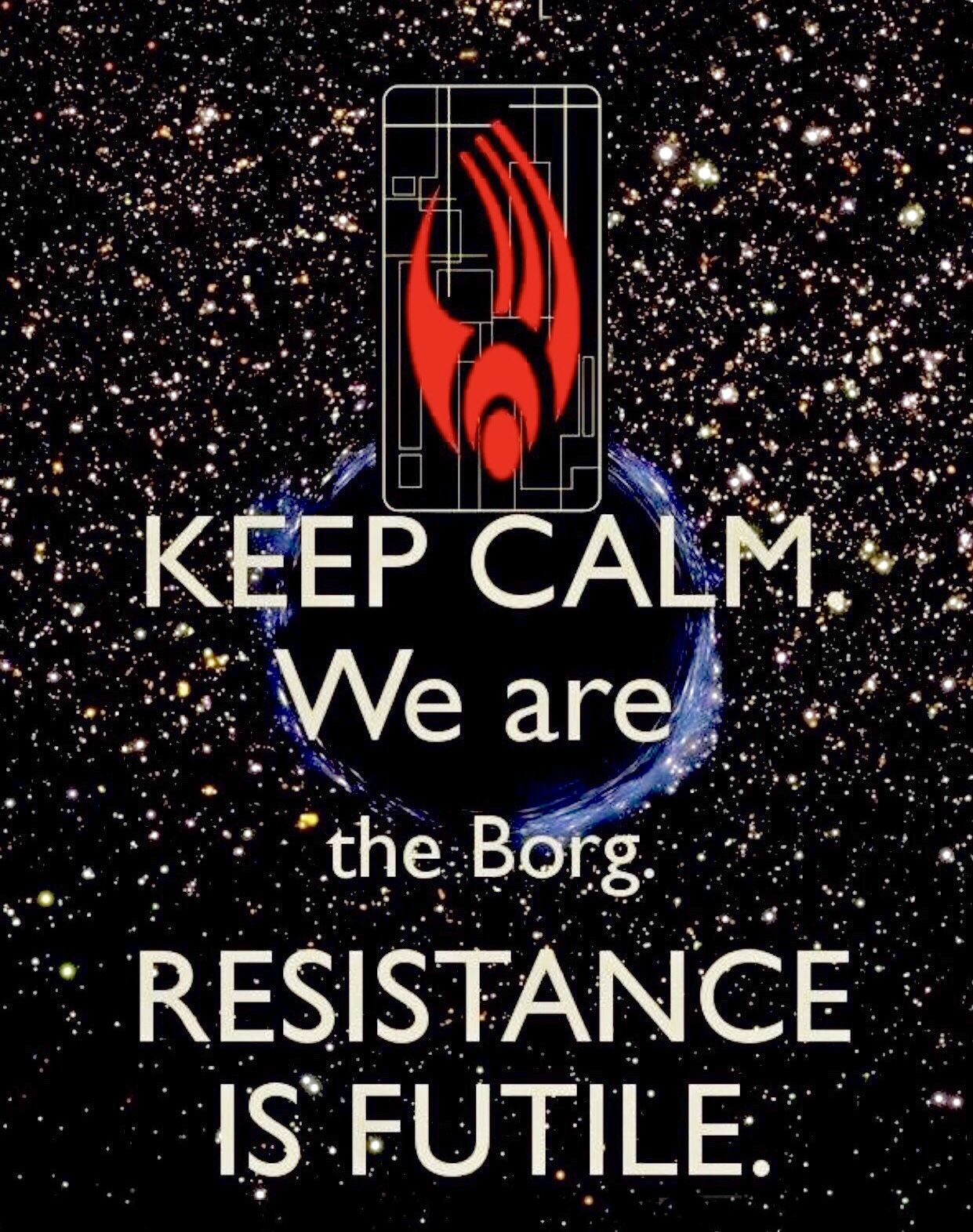 Image result for borg you will be assimilated