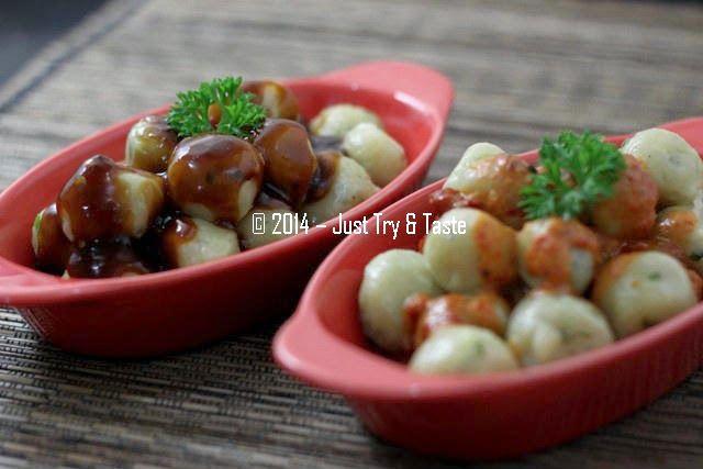 Just Try Taste Cilok Dengan Sambal Pecel Atau Sambal Rujak Keduanya Sama Mantapnya Resep Resep Masakan Makanan