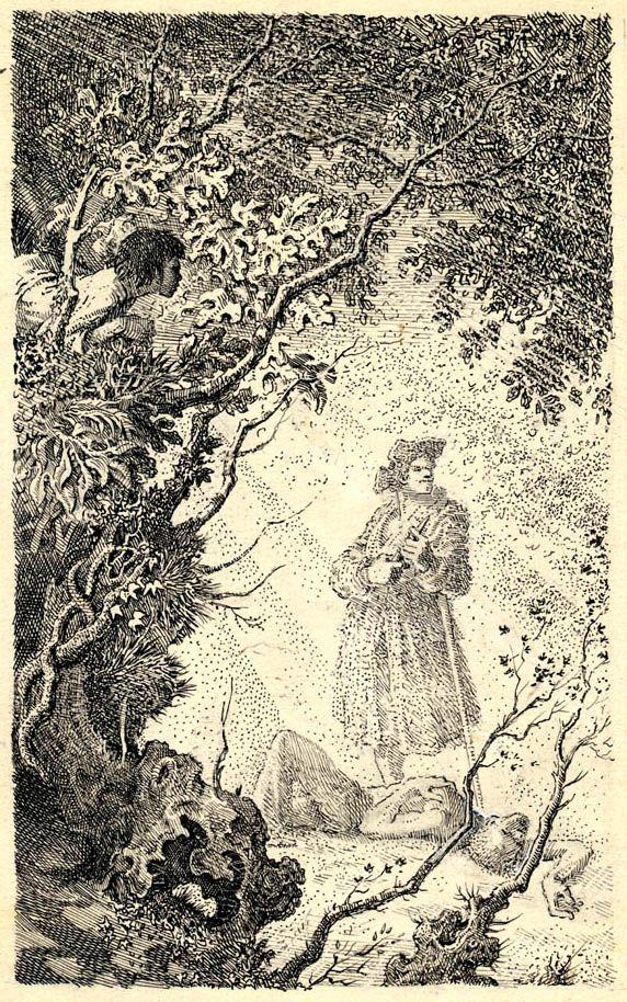 Mervyn Peake. Treasure Island, Page 134