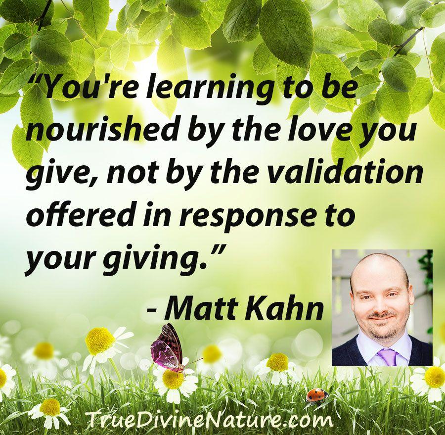 Matt Kahn Quotes Glamorous Favorite Quotes From Spiritual Teacher And Intuitive Healer Matt . Review