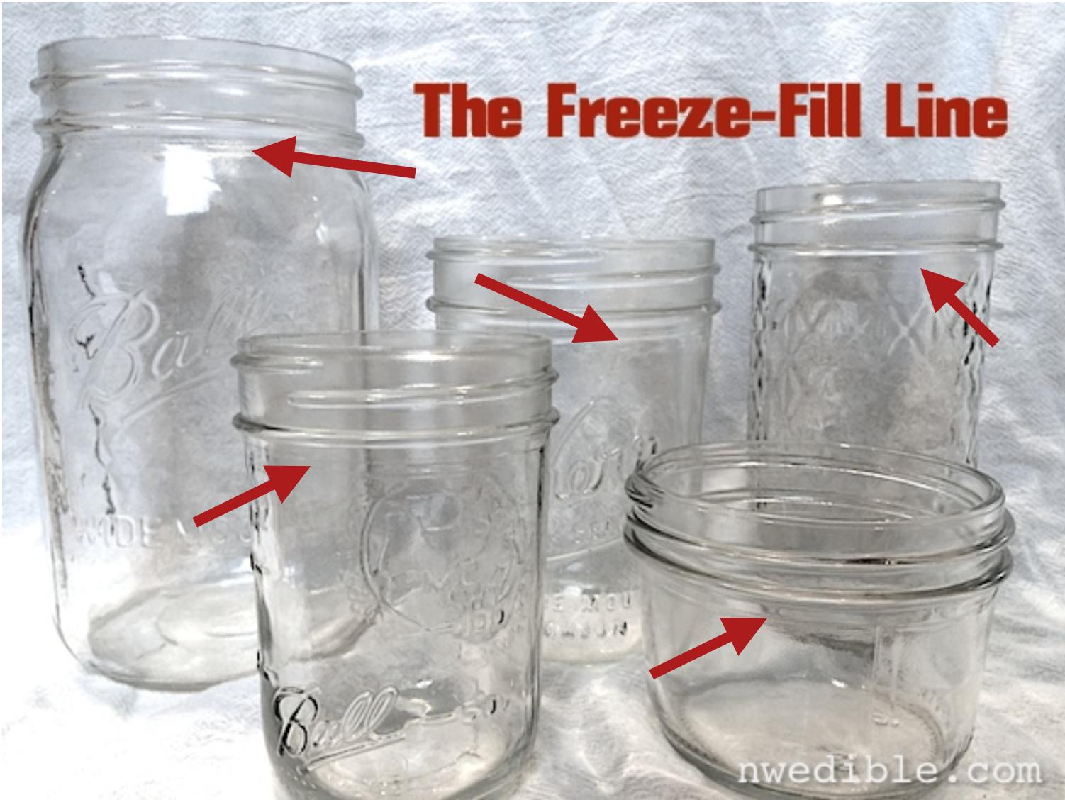 Freeze Food In Mason Jars