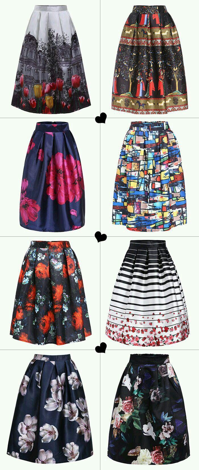 Pin De Carol En Kıyafet Panosu Faldas Bonitas Vestidos Y Faldas Moda Faldas