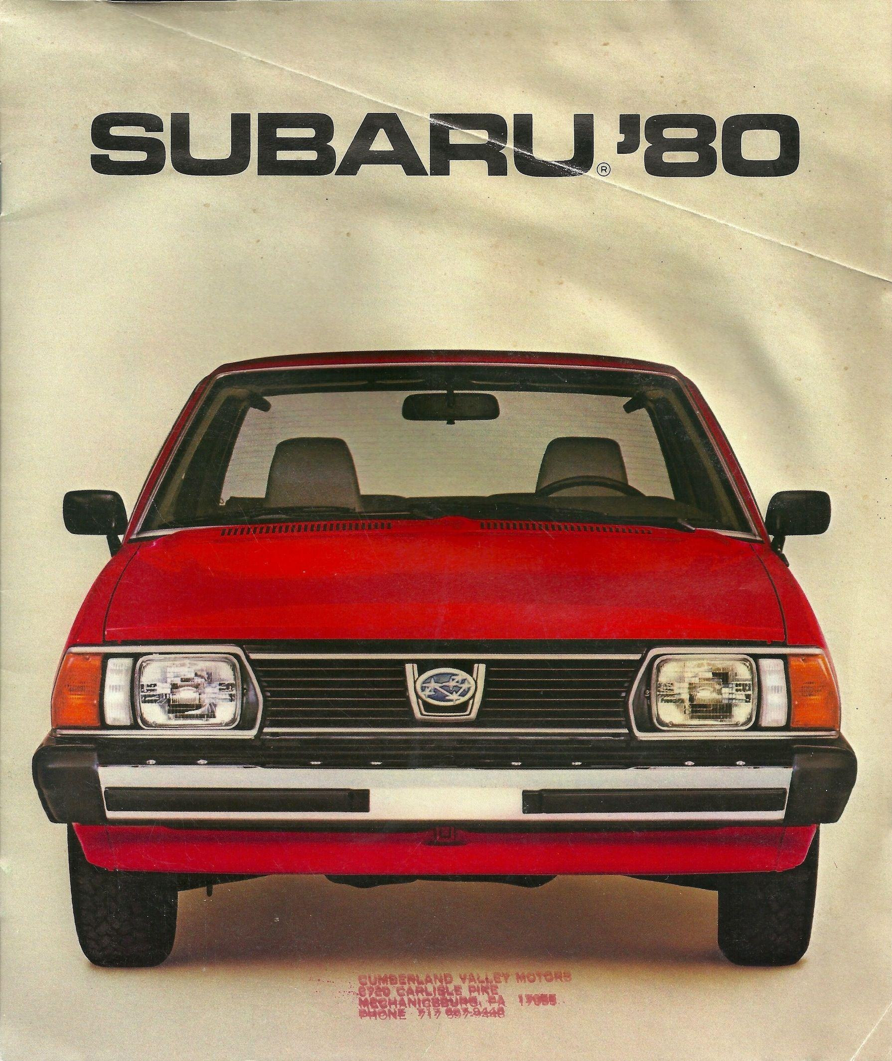Subaru..1980 #SubaruElCajon #VintageSubaru