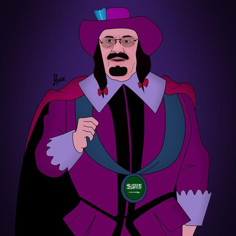 Rey Abdulla de Arabia Saudita #Villains