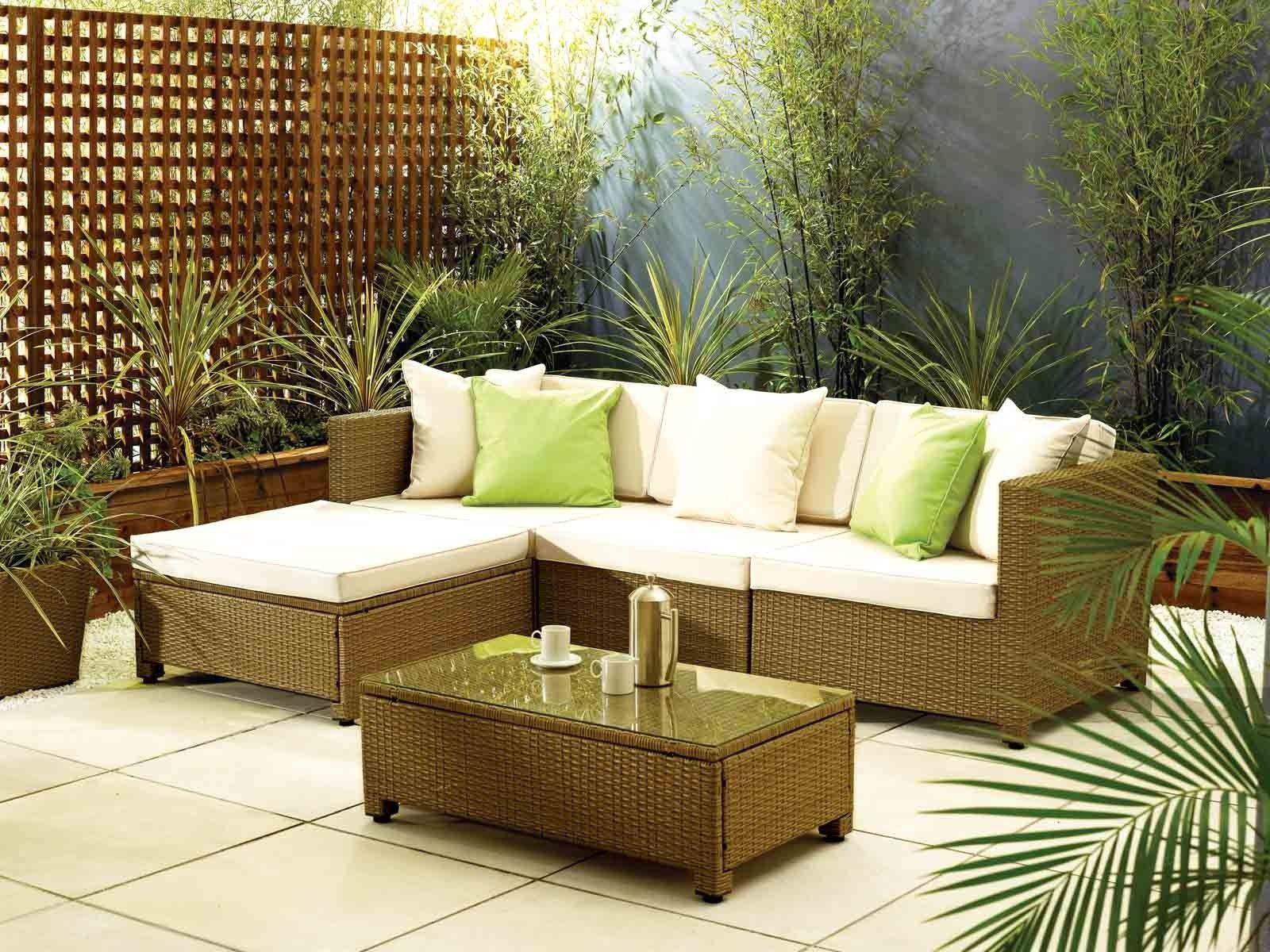 Barcelona Modular Sofa Set Rattan Furniture