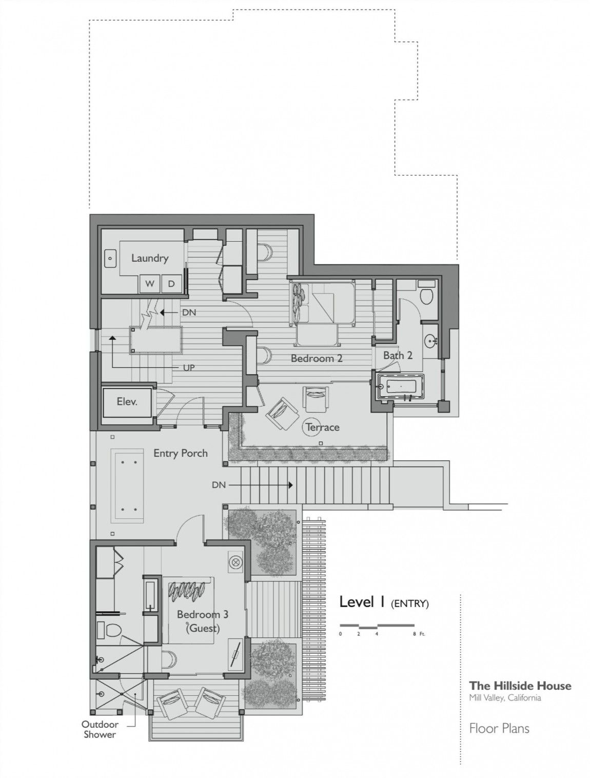 Hillside House By Sb Architects Hillside House Garage House Plans Cottage House Plans