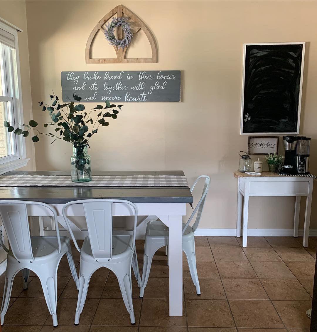 Farmhouse Kitchen Small accent tables, Home decor