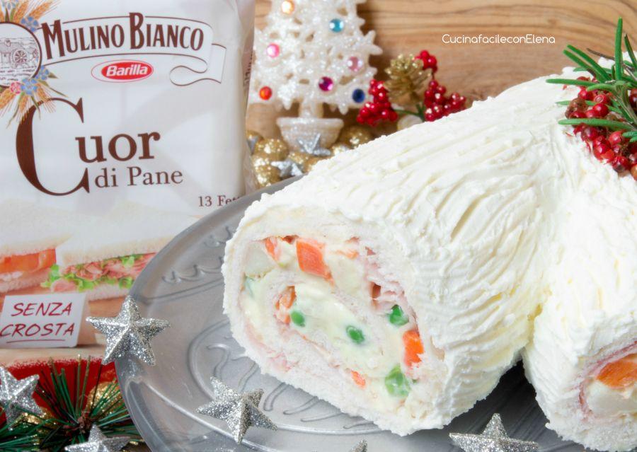 Tronchetto Di Natale Menu Di Benedetta.Tronchetto Di Natale Salato Di Pancarre Ricetta Natalizia Deliziosa