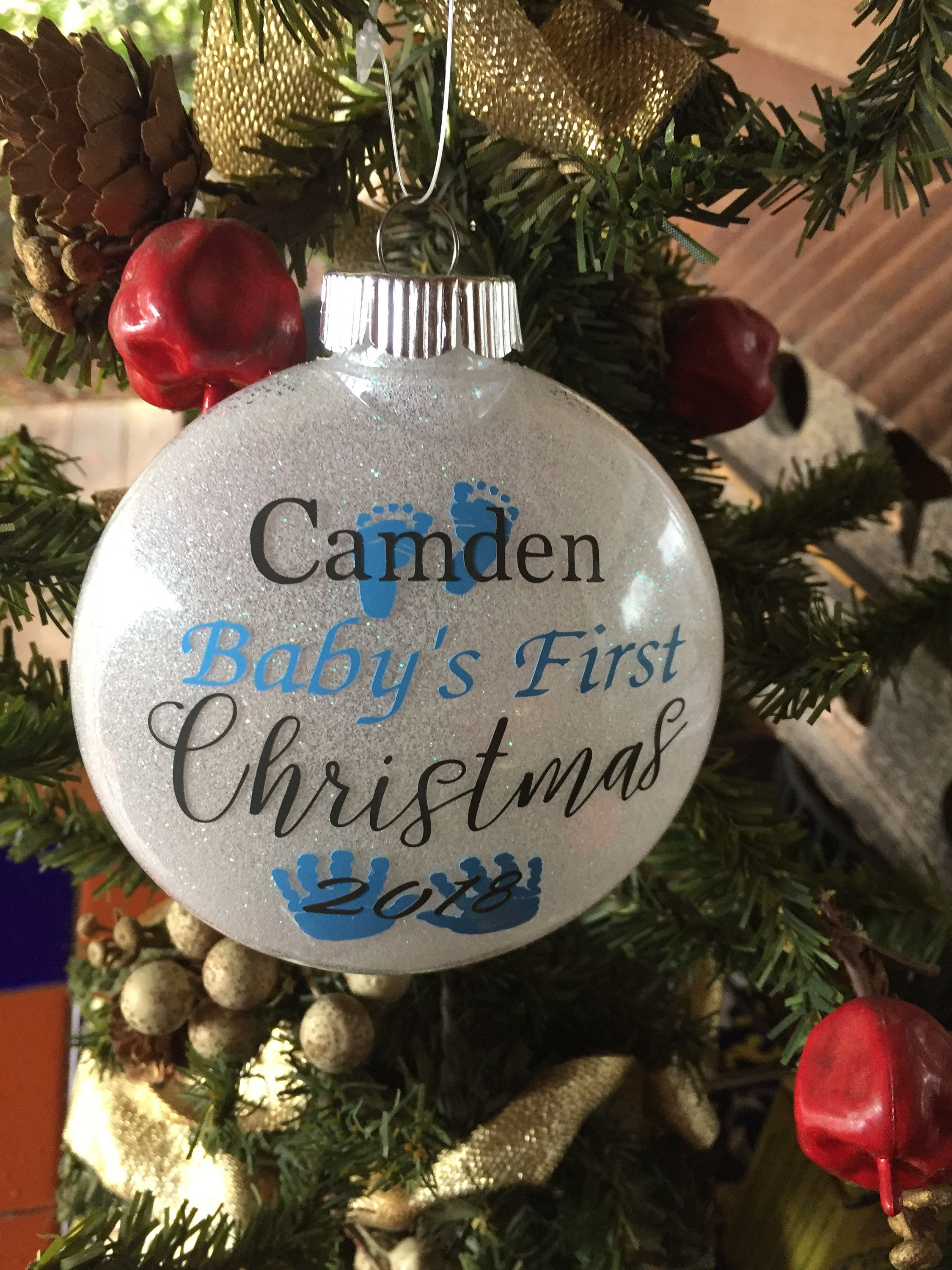 Personalized Baby S First 2020 Ornament Baby S First Etsy Christmas Ornaments Personalized Christmas Ornaments Diy Christmas Ornaments