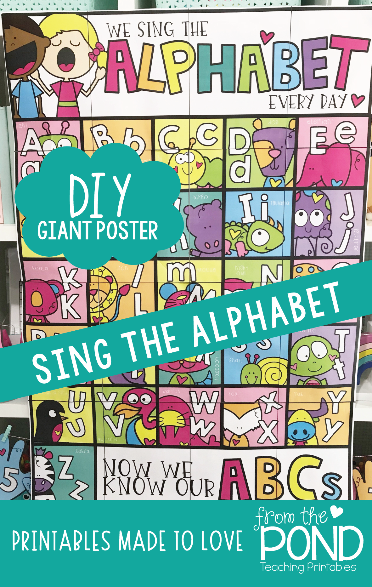 Sing The Alphabet And Learn Letters Every Day With This