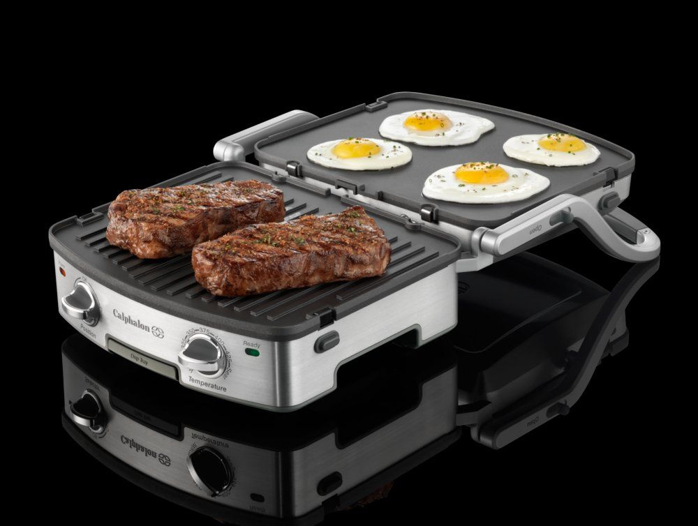 Calphalon 5 In 1 Removable Plate Grill Perfect As A Panini Press My Kids Would Be So Hy If I Got Yourset Things For Mommy