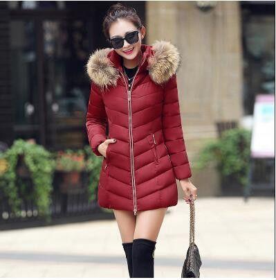 TYJTJY 2017 Fashion Women coat womens jacket New warm Autumn Winter jacket women thick hoody slim women parka warm winter coat