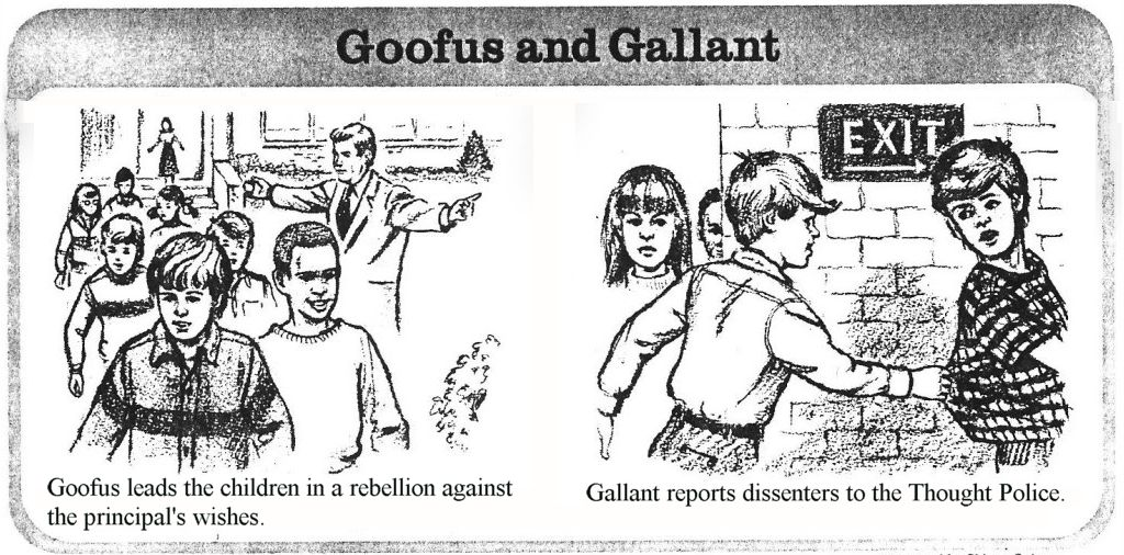 526ee4876ddae75c366d6bc72642d64e goofus and gallant google search silly goose pinterest snitch