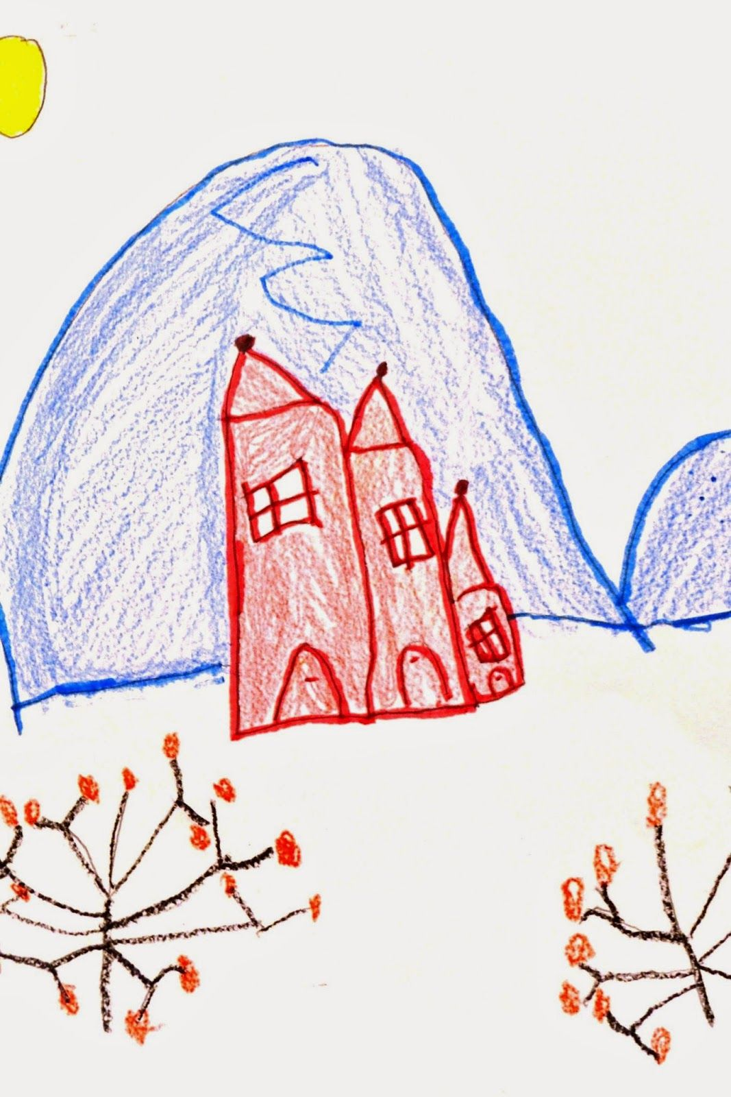 Kindergarten Landscapes In The Style Of Keiko Minami