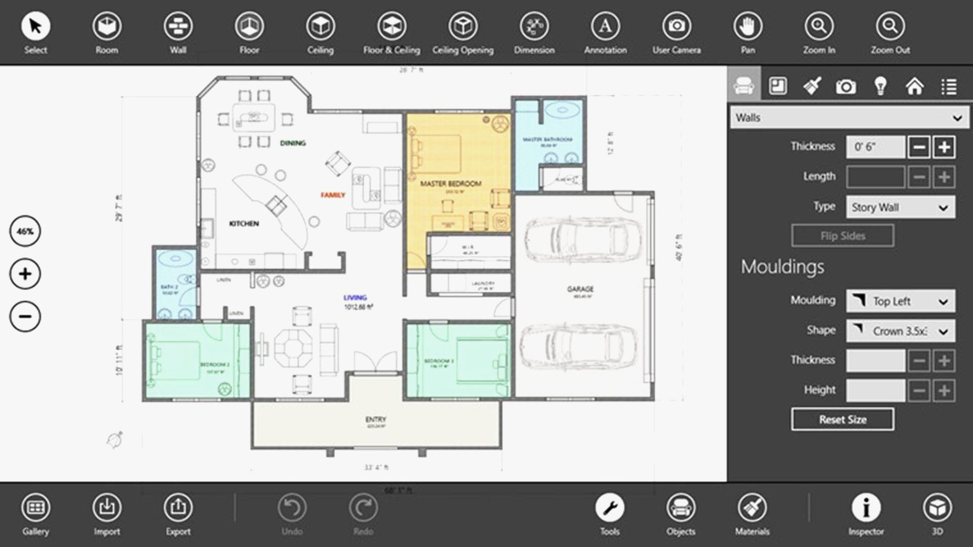 Free House Plan Design App In 2020 Floor Plan Design Interior Design Apps Free House Plans