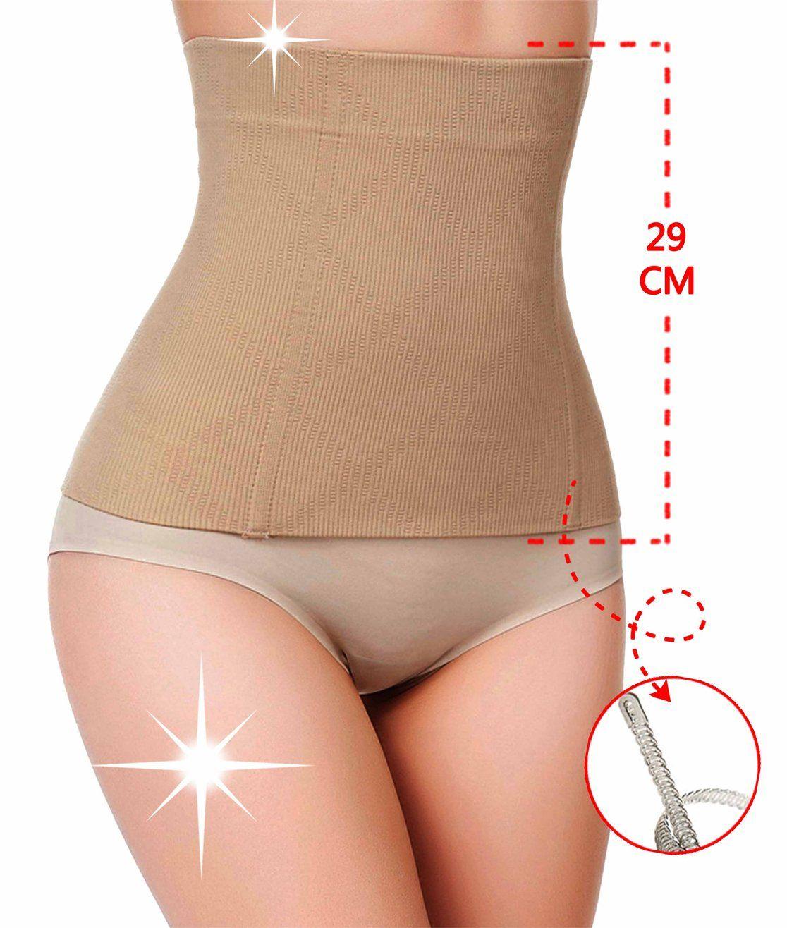 3a3c84f76cd1 waist trainer vest latex corset long torso for women men for weight loss  (XL,