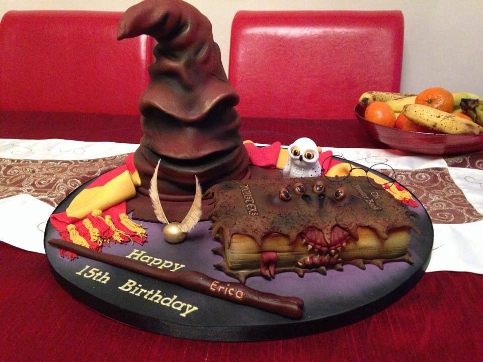 Pin by Ashley Rossiter on Harry Potter Cool birthday