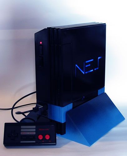Playstation 2 NES case mod | Video Gaming | Nes system