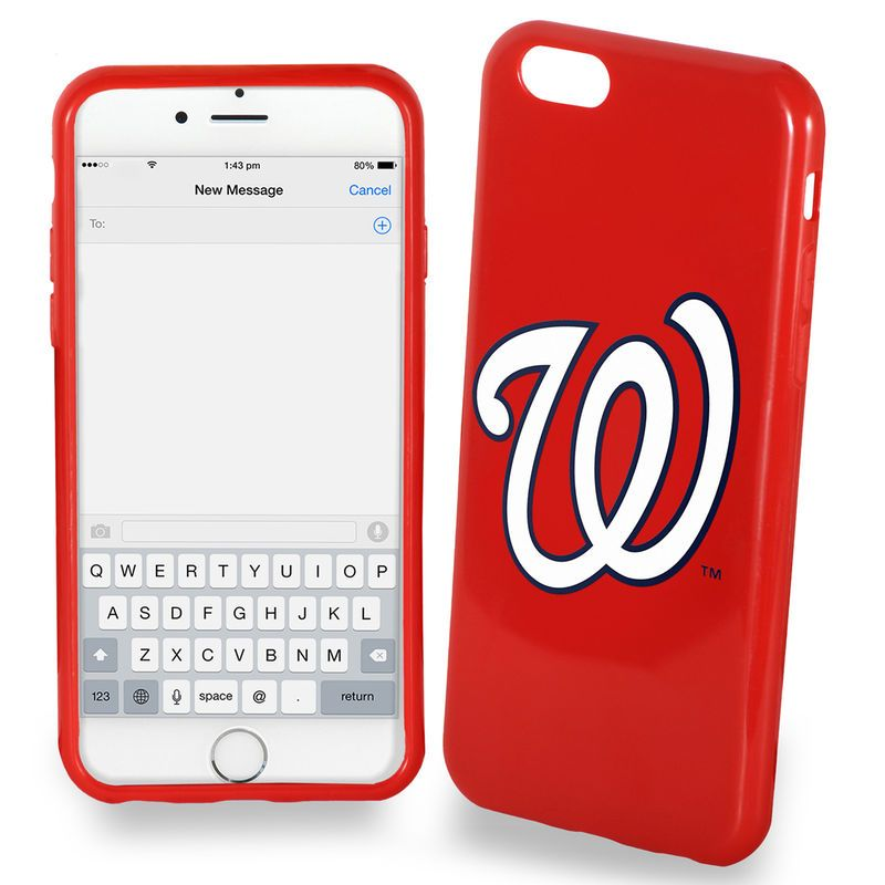 Washington Nationals iPhone 6 Solid Case