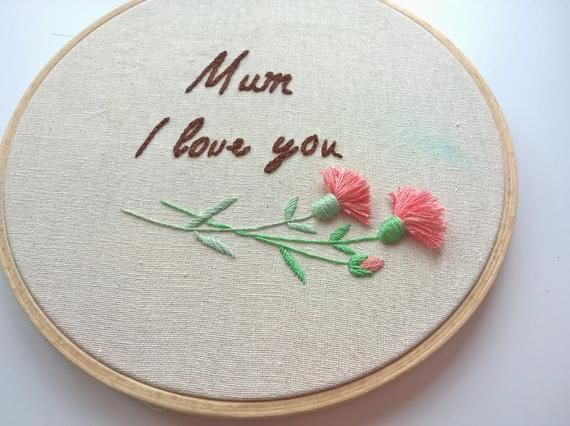 2975b79e6e6 Gift for mom, I love you mom, love you mum, gift for mother, mother's day  gift, personalized gift, h