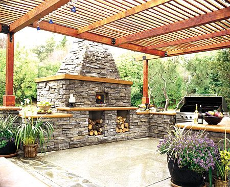 Outdoor Kitchen Design, 26 Cool Designs   The Outdoor Kitchen Design Is A  Different Kind Of Kitchen Design. The Outdoor Kitchen Design Is An  Attractive ...
