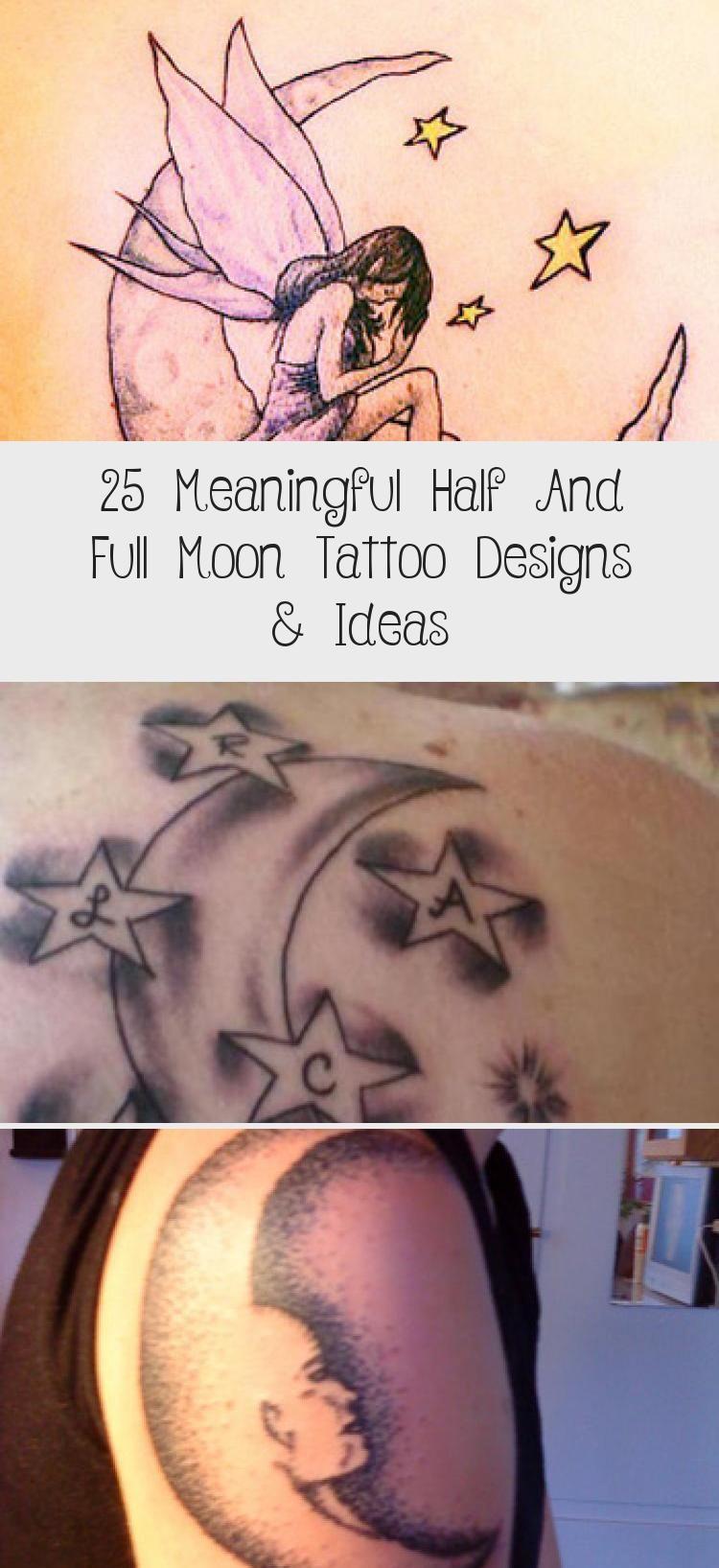 Photo of 25 idées et conceptions de tatouage significatives pour la moitié et la pleine lune – Meilleur tatouage