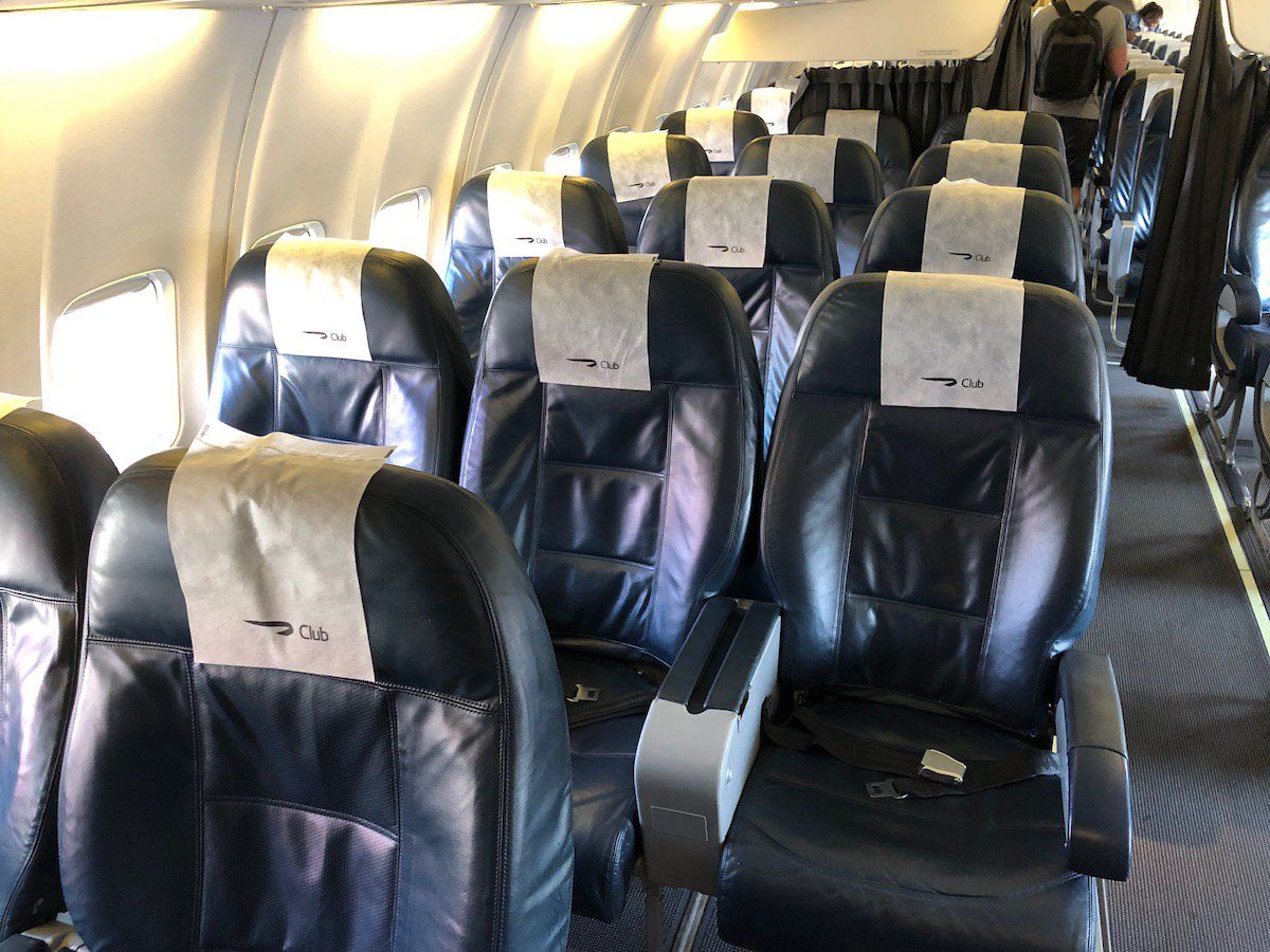 Review British Airways Comair Business Class 737 One
