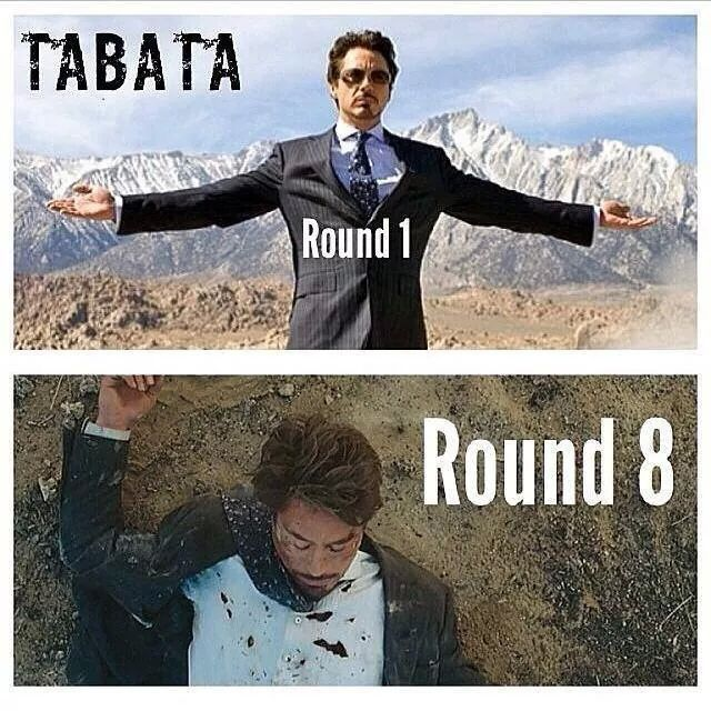 Image result for tabata meme