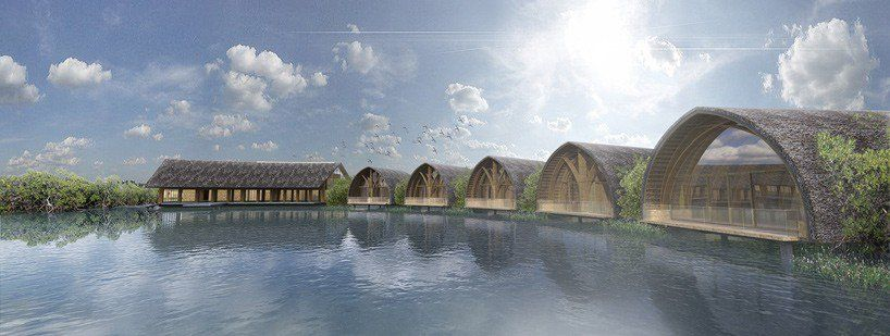 vo trong nghia proposes floating bamboo spa connected to island resort in vietnam https://t.co/FChDOL8WQJ via PaigeStainless