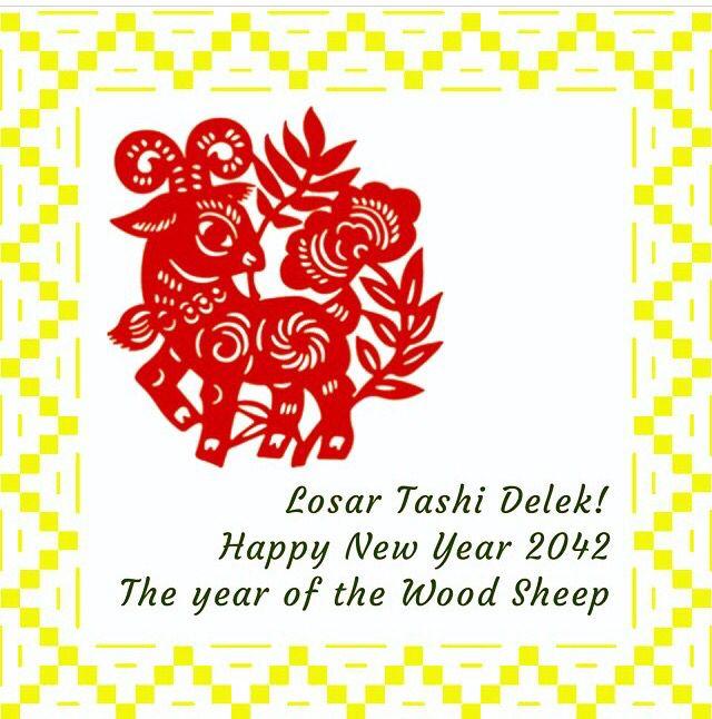 Losar Tashi Delek! Happy Tibetan New Year! and Happy Chinese New ...
