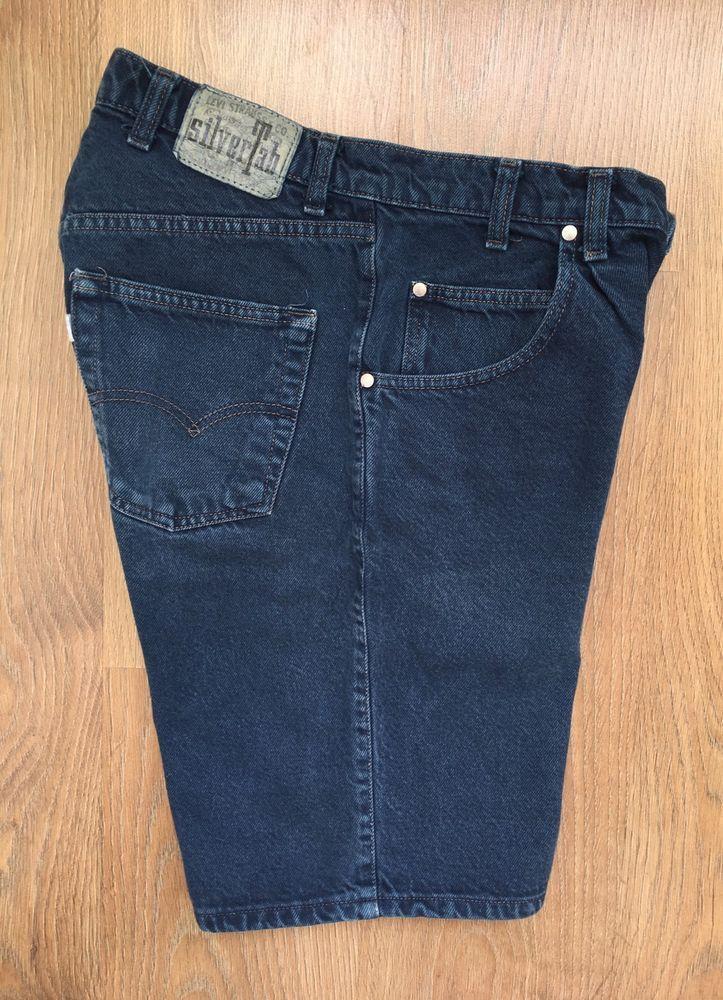 Vintage Levis Silver Tab Mens Blue Denim Shorts W30 Levi Strauss