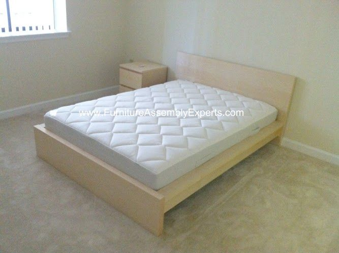 Ikea Malm Bed Assembled In Accookeek Md By Furniture Assembly