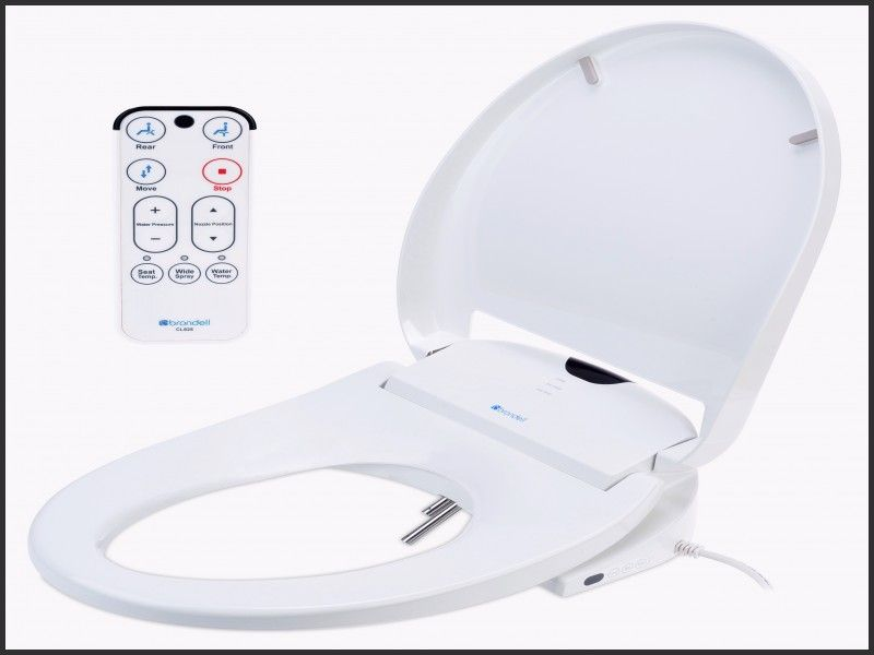 Luxury Brondell S300 Swash 300 Bidet Toilet Seat Elongated Home