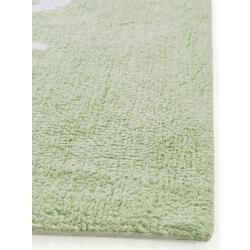 Lytte Waschbarer Kinderteppich Inka Cactus Hellgrün 150x225 cm - Teppich für Kinderzimmer