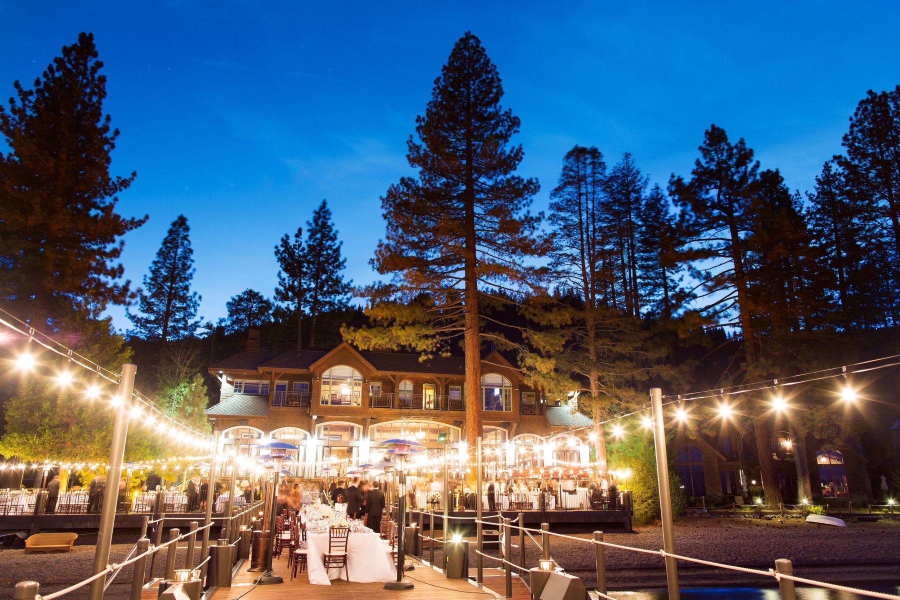 Classic lake tahoe wedding lake tahoe weddings
