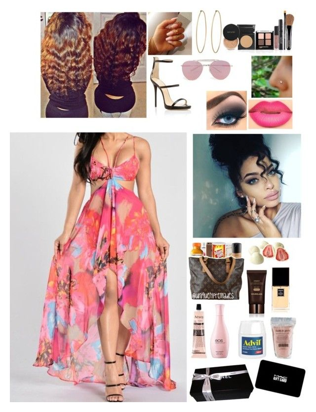 Last night I think I lost my... by baddie1102baddie on Polyvore featuring polyvore Giuseppe Zanotti Social Anarchy Boohoo Hourglass Cosmetics Chanel Eos Aesop MAC Cosmetics W.A.G. fashion style clothing