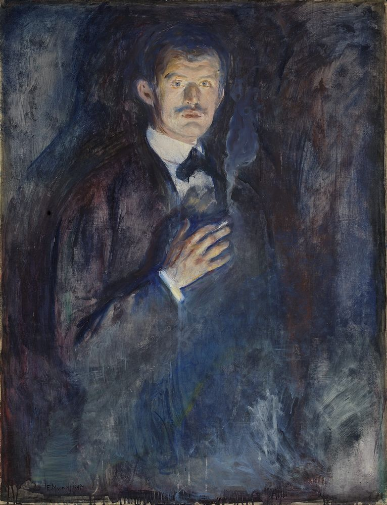 Edvard Munch Mest Kjente Malerier Google Sok Med Bilder Sjalvportratt Portratt Konst