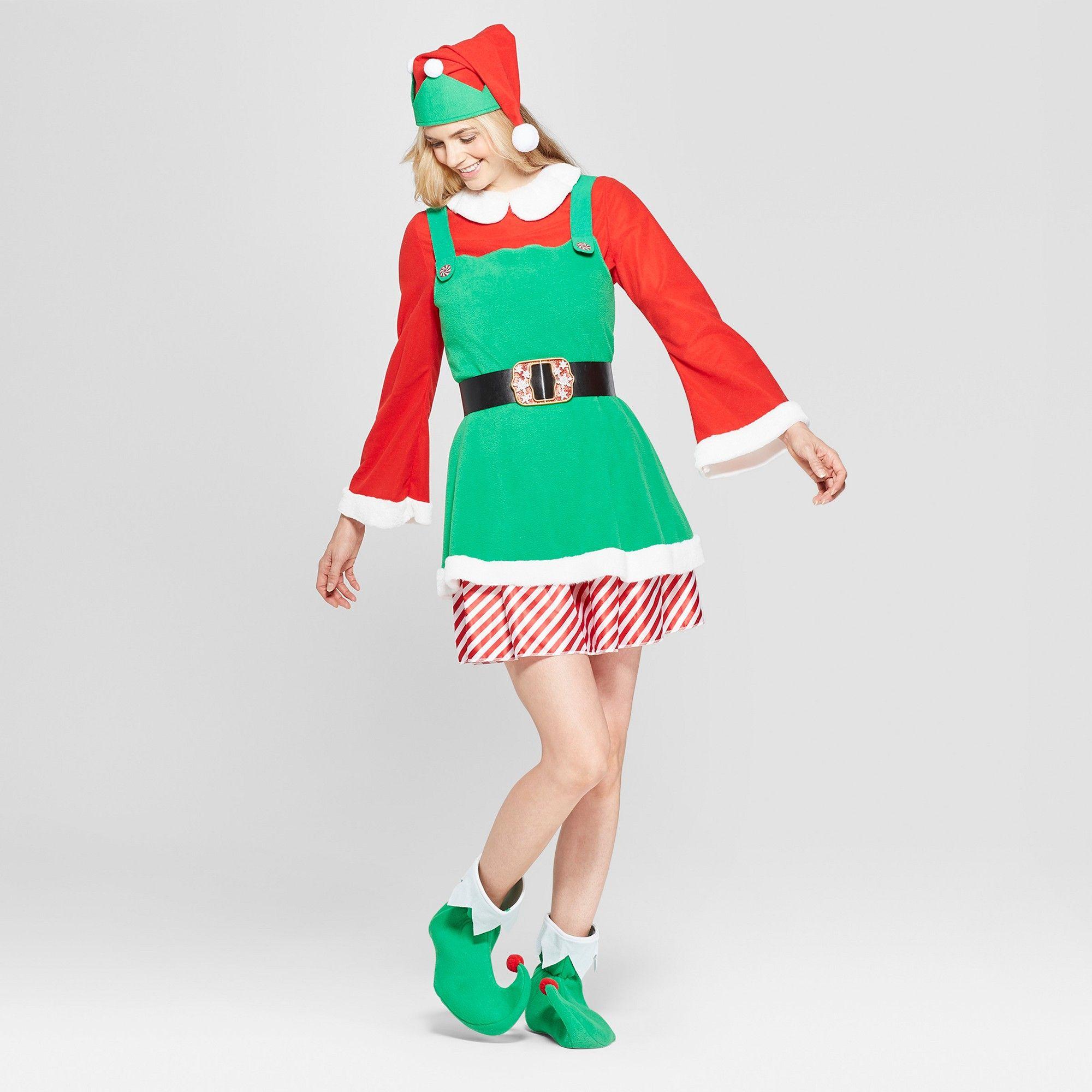 3da30eb2bf0 Halloween Women s Elf Costume M - Wondershop