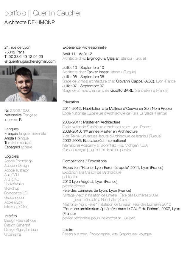 Quentin Gaucher Architecte Portfolio
