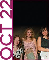 Join us for an evening with The Boxcar Lilies, a coffee house concert at Orchard Cove on 10/22: http://bit.ly/1KaAzj1