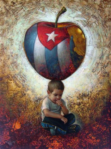 Esposicion Del Pintor Maykel Herrera En La Habana Vieja Cuba Cuban Art Painting Art
